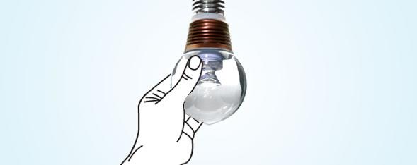 あつくないLED電球