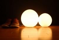 丸いライト1