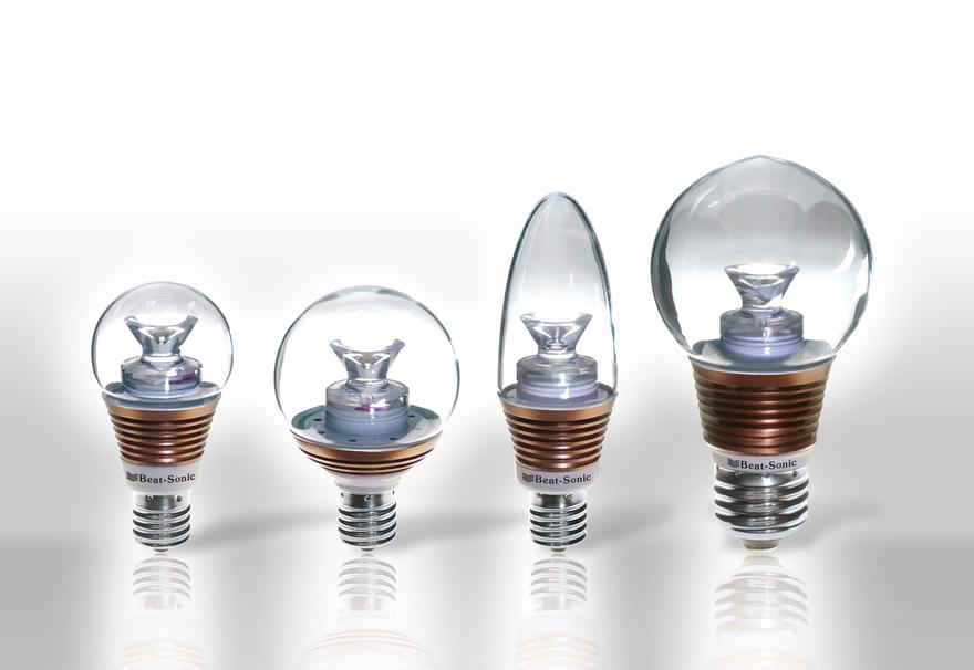 『LEDクリア電球「影美人」』