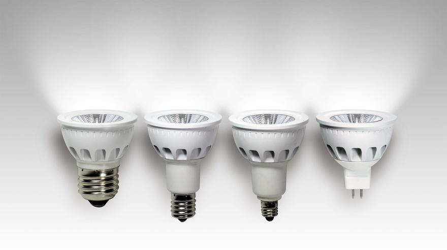 『LEDスポット電球「影美人」』