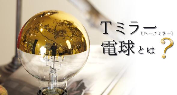 Tミラー(ハーフミラー)電球とは?_top